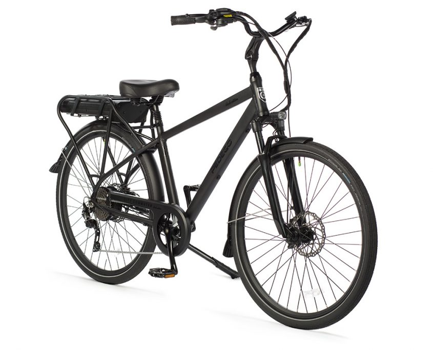 Victoria Electric Bicycles - 28″ City Commuter Black Edition