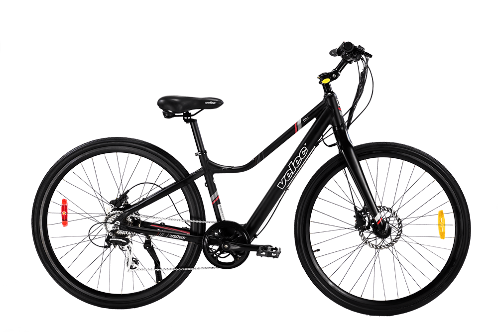 Victoria Electric Bicycles - Velec Citi.1 in Black and Citi.2 in Red